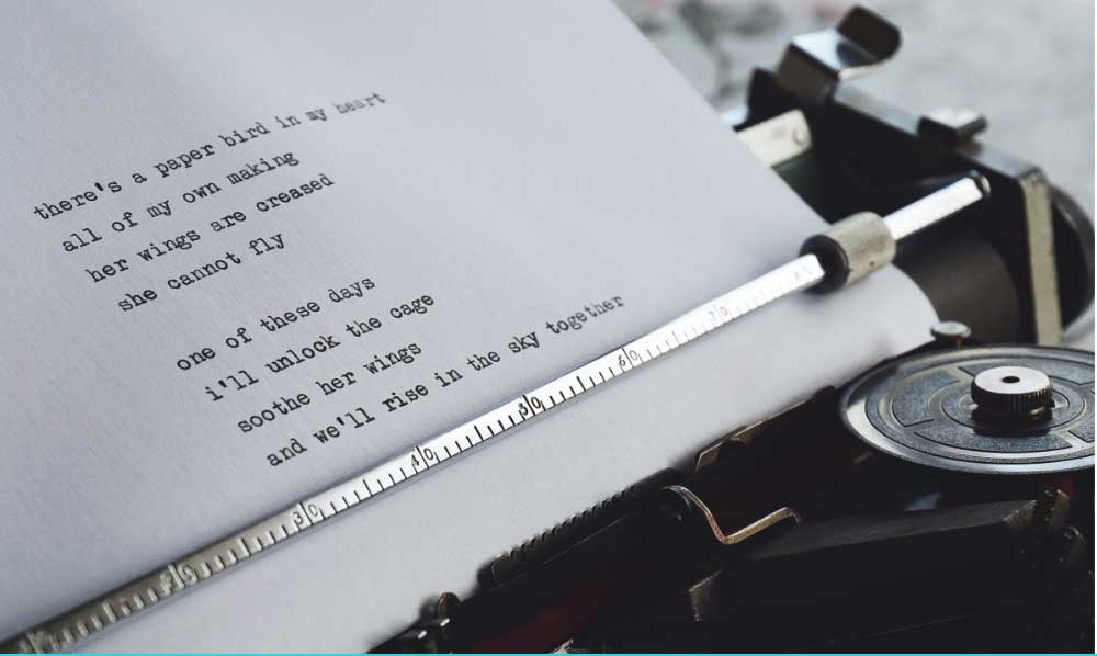 Poetic writing is a treasured method of writing consisting of stanzas or sections