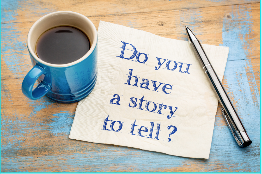Narrative writing is all about storytelling with clear beginning, middle and end. Do you have a story to tell? Then thats your narrative writing